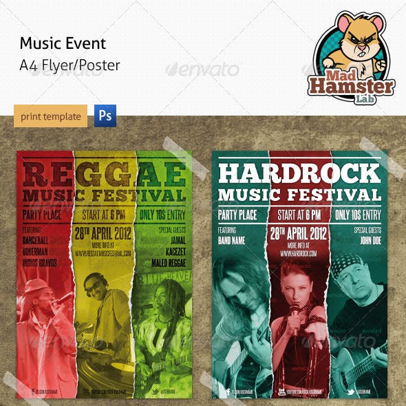 Music Event Flyer/Poster