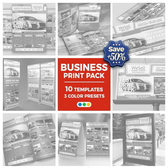 Sales and Services - Business Advertising Bundle