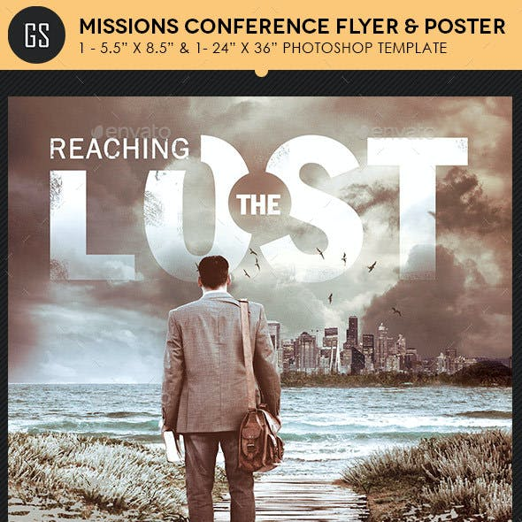 Missions Conference Flyer Poster Template