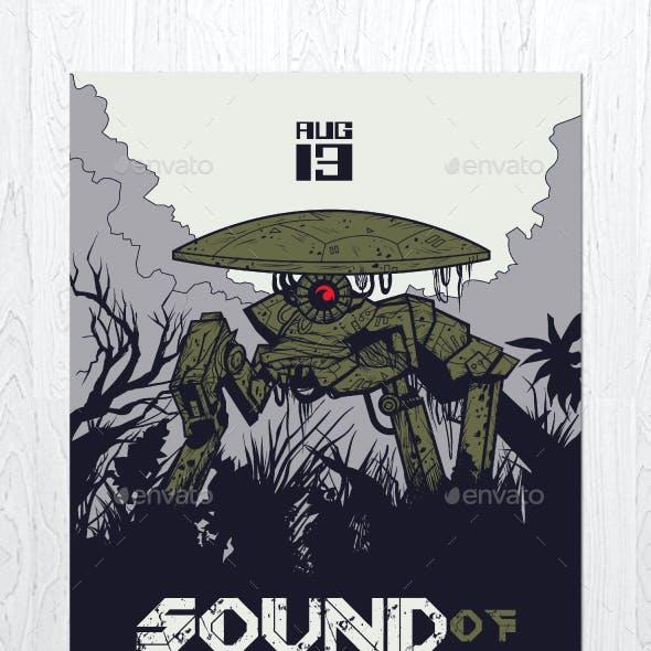 Sound of Machine Flyer