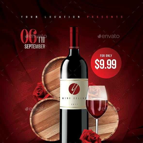 Red Wine Flyer