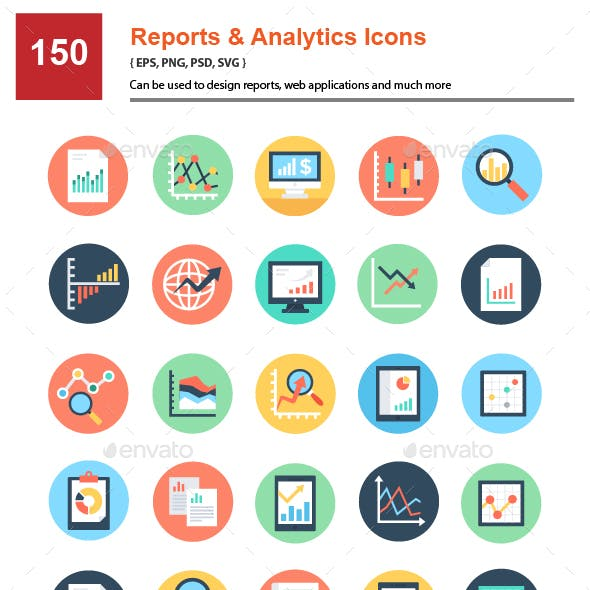150 Admin Dashboard Icons