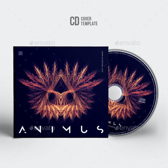 Animus - CD Cover Artwork Template
