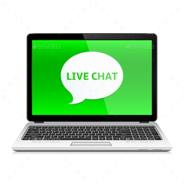 Laptop with Live Chat - Computers Technology