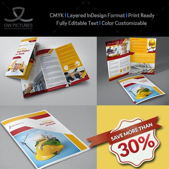Construction Company Brochure Bundle Vol.2