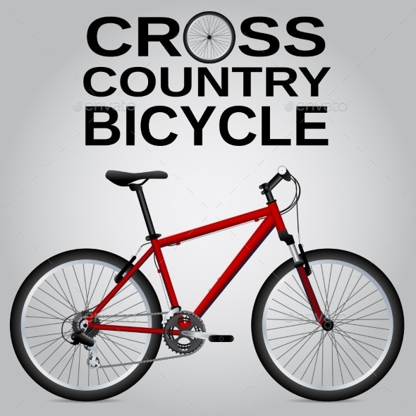 Cross-Country Bike - Man-made Objects Objects