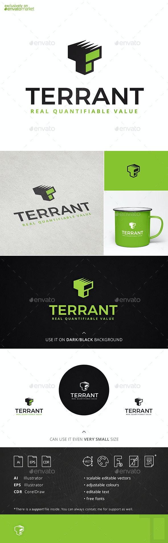 Terrant T Logo Template
