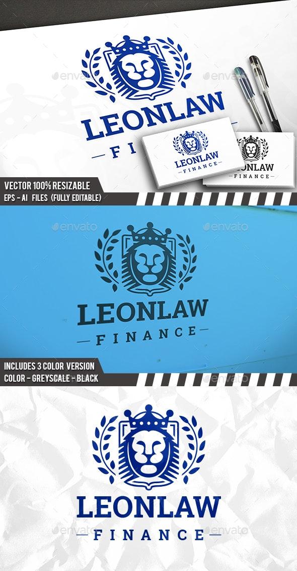 Lion King Crest Logo