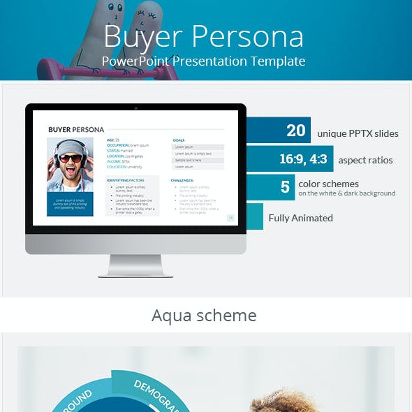 Buyer Persona PowerPoint Presentation Template