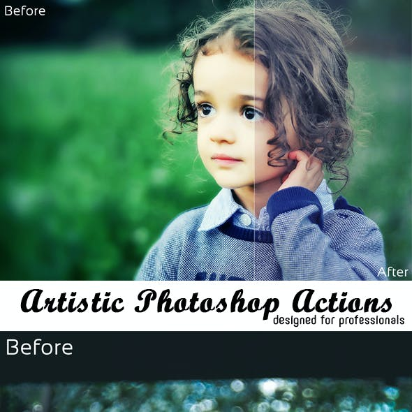 Artistic Photoshop Actions