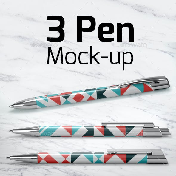 3 Pen Mock-up