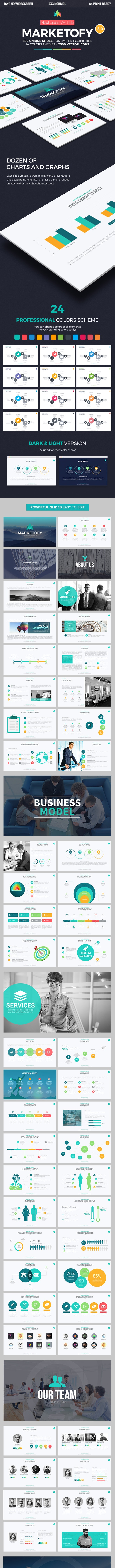 Marketofy - Ultimate PowerPoint Template - Pitch Deck PowerPoint Templates