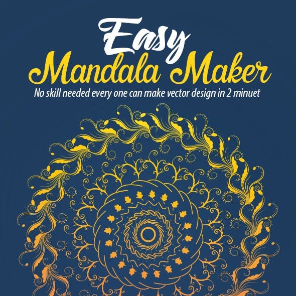 Easy Mandala Maker