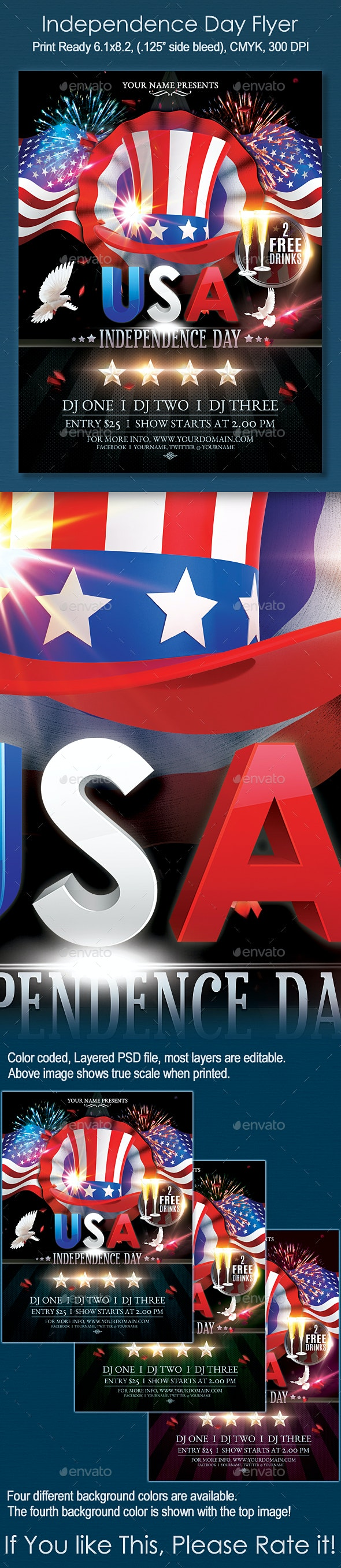 USA Independance Day - Holidays Events