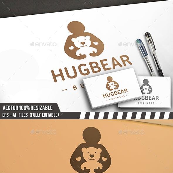 Hug Bear Logo