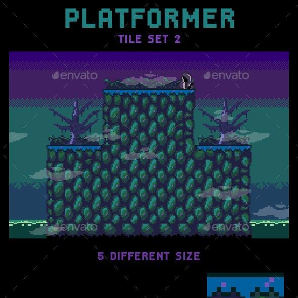 Swamp Platformer Tileset