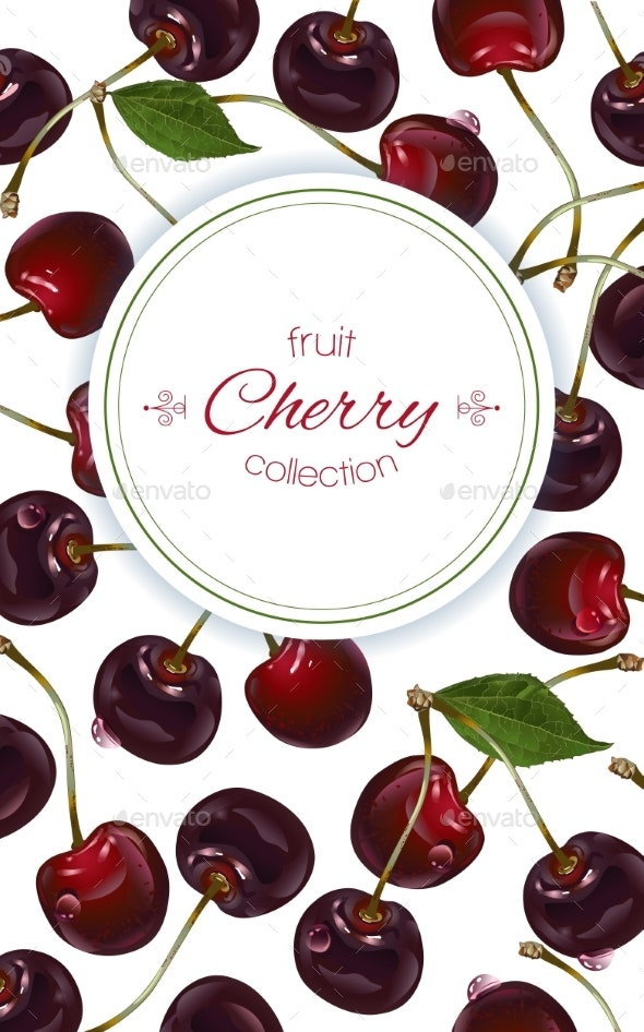 Cherry Vertical Banners - Food Objects