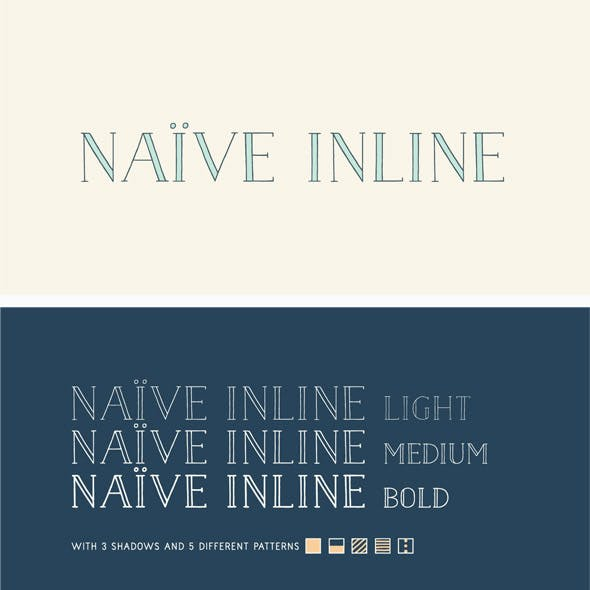 Naive Inline Font Pack