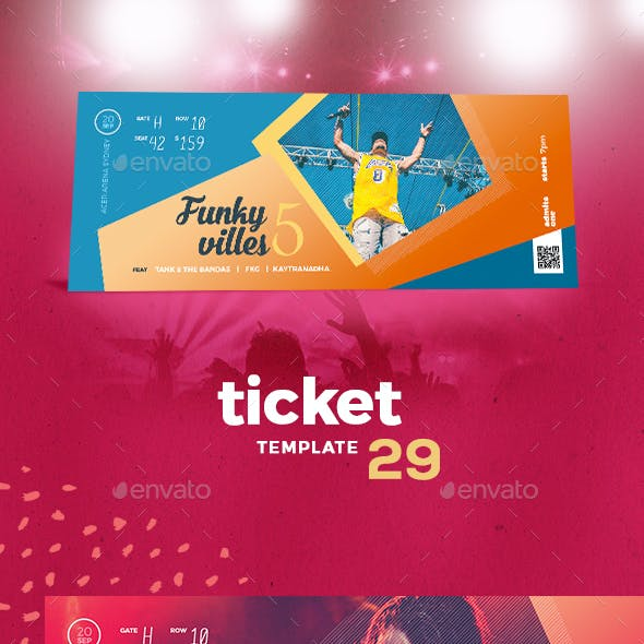 Event Tickets Template 29