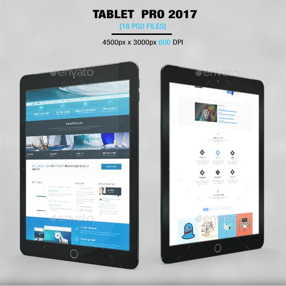 Tablet 2017 App MockUp