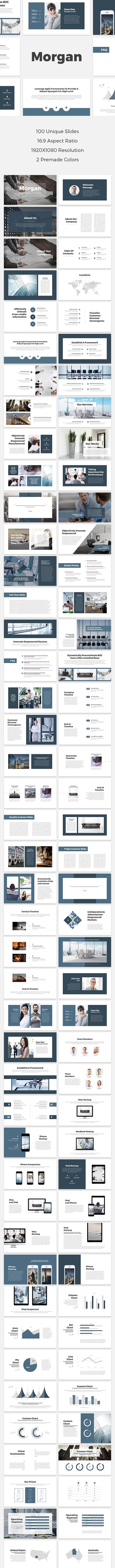 Morgan PowerPoint Template - PowerPoint Templates Presentation Templates