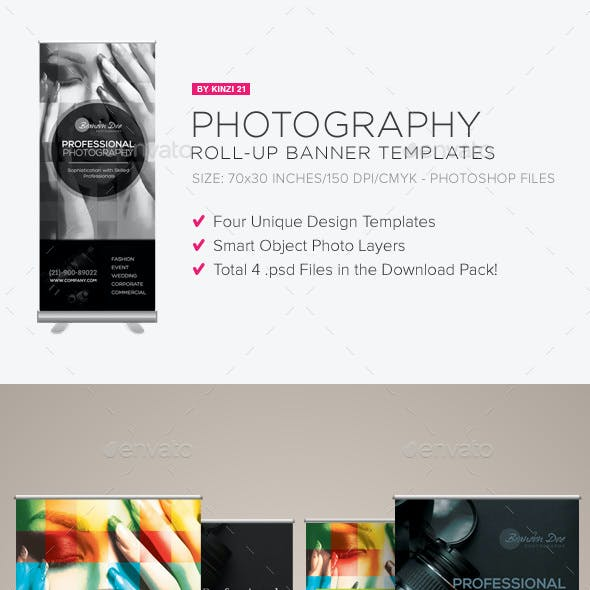 Photography Roll-up Banners