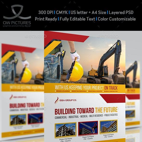 Construction Business Flyer Vol.6