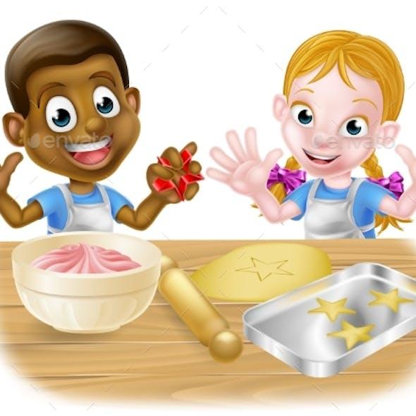 Kid Bakers Cooking
