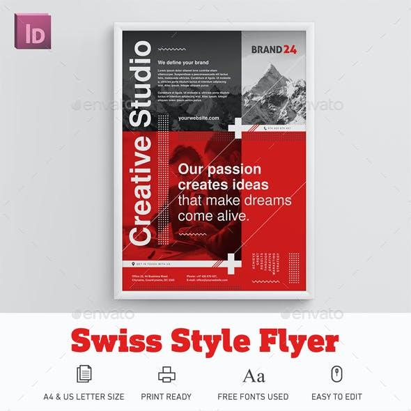 Swiss Style Flyer