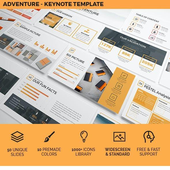 Adventure - Keynote Template Presentation