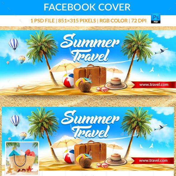 Summer Travel Facebook Cover