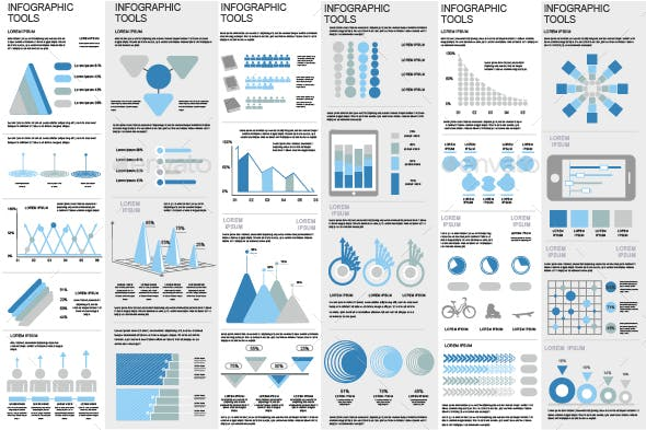 12 Best Make your own Infographics with GraphicRiver for May 2019