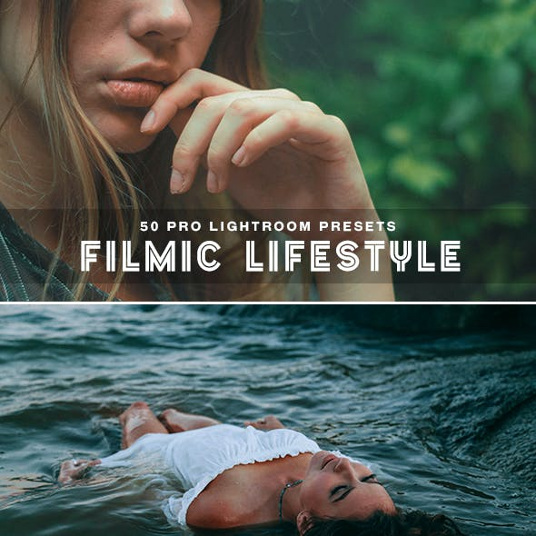 50 Filmic Lifestyle Lightroom Presets