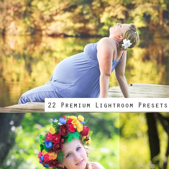 22 Premium Lightroom Presets
