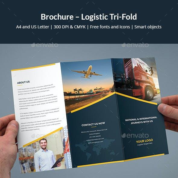 Brochure – Logistic Tri-Fold