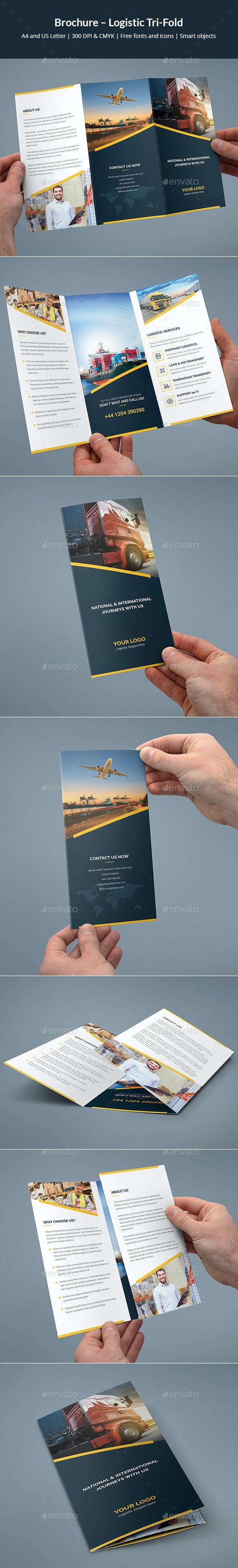 Brochure – Logistic Tri-Fold - Corporate Brochures