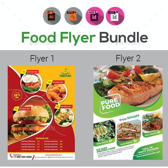 Food Flyers Bundle Templates