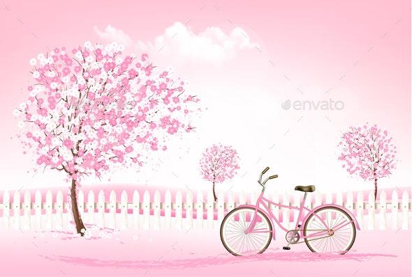Spring Nature Background - Seasons Nature