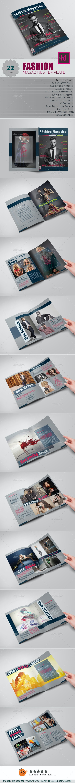 Fashion Magazines - Magazines Print Templates