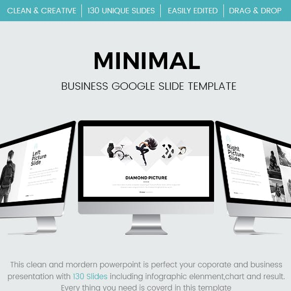 Minimal Business Google Slides Template