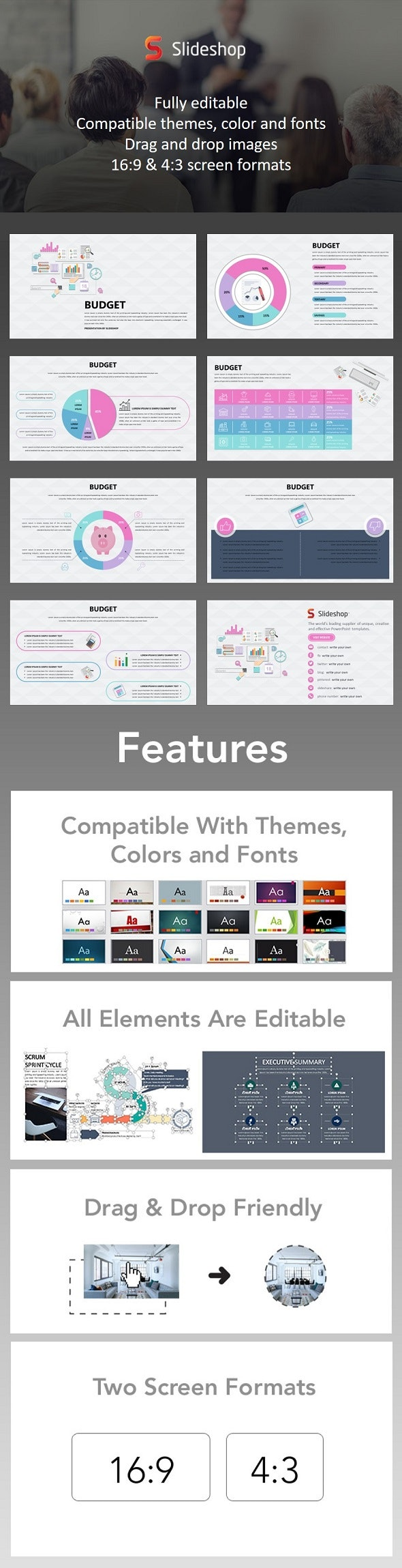 Budget - PowerPoint Templates Presentation Templates
