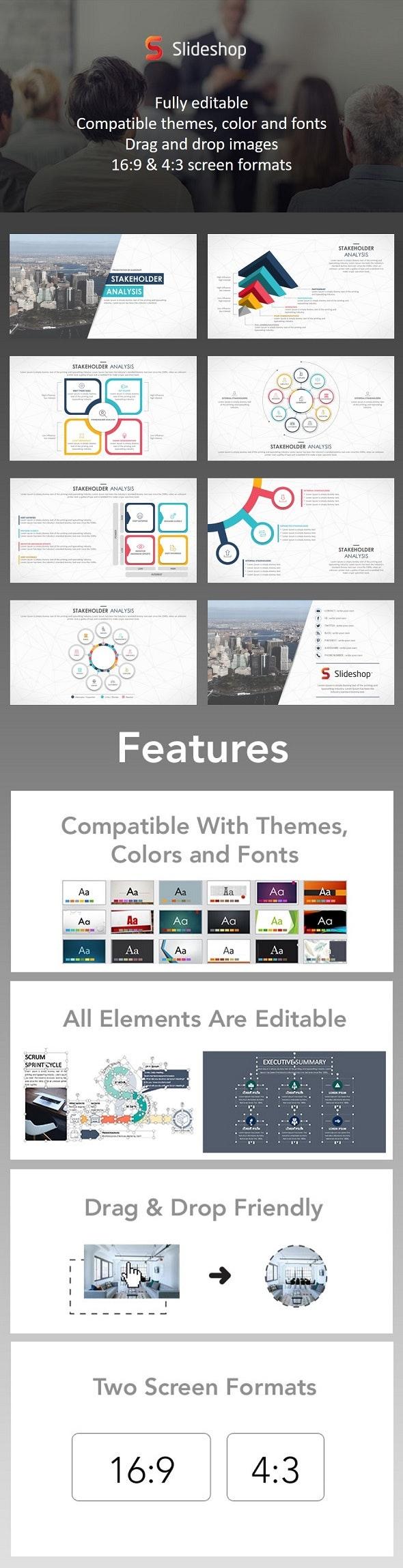 Stakeholder Analysis - PowerPoint Templates Presentation Templates
