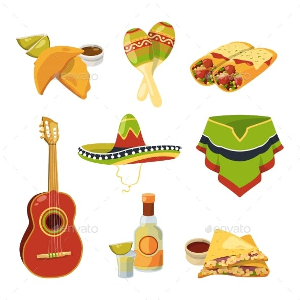 Traditional Mexican Cuisine Food and Other