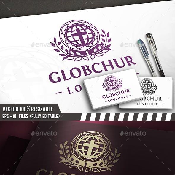Classic Globe Church Logo