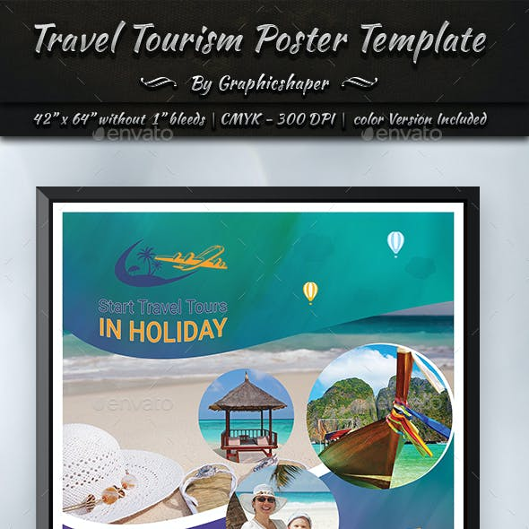 Travel Tourism Poster Template