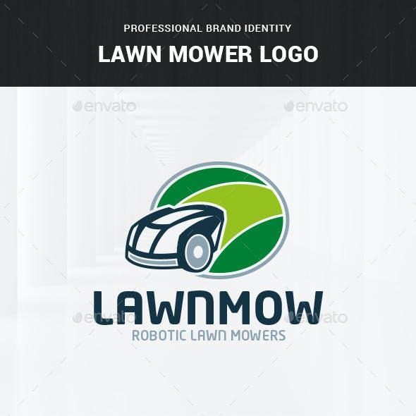 Lawn Mower Logo Template