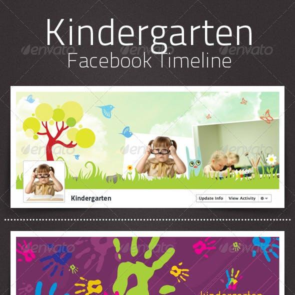 Kindergarten Facebook Timeline