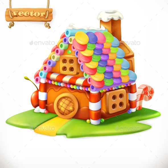 Sweet House - Vectors