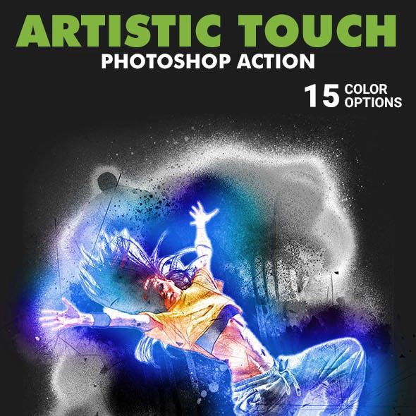 Artistic Touch Photoshop Action