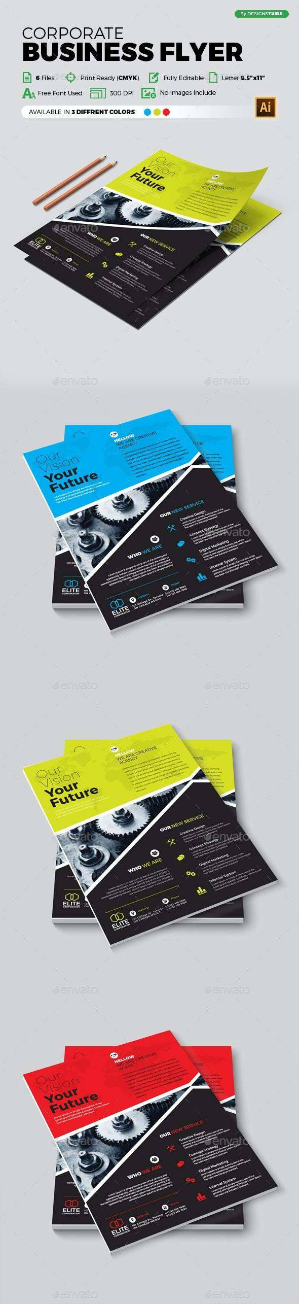Flyer – Multipurpose 318 - Flyers Print Templates